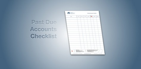 Past Due Accounts Checklist